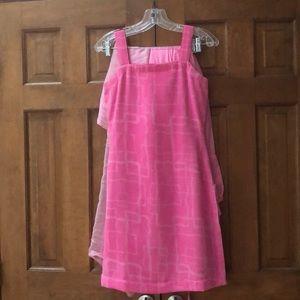 Dresses & Skirts - Pink contrasting Churidar